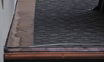 Heat Tape Slate Roofs: Prevent Ice Dams From Forming On Slate Roofs Where  The Wall